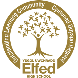 Elfed High School Logo
